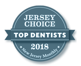 Jersey Choice Top Dentists Badge 2018